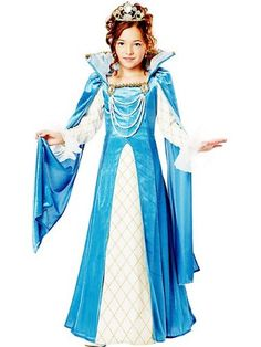 California Costumes Renaissance Queen Child Costume, Medium ** You can find out more details at the link of the image.