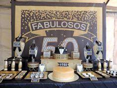 Black and Gold Tuxedo Birthday Party Ideas | Photo 3 of 39