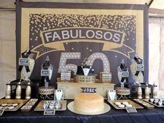Black and Gold Tuxedo Birthday Party Ideas   Photo 3 of 39