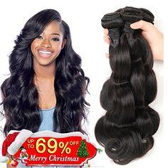 Top 10 Best Weave Silks Hair in 2020 – Paramatan Body Wave Weave, Wave 3, Body Wave Hair, Remy Human Hair, Human Hair Extensions, Best Weave, Silk Hair, Brazilian Body Wave, Virgin Hair