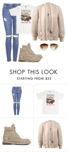 """""""Untitled #371"""" by northwood ❤ liked on Polyvore featuring Topshop, Timberland, Reed Krakoff, Christian Dior, women's clothing, women, female, woman, misses and juniors"""