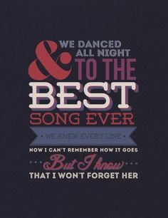 Best Song Ever- One Direction. I'm the fan of One Direction and this song pretty stinking amazing. It gets stuck in my head alot, but in a good way One Direction Lyrics, One Direction Imagines, I Love One Direction, Best Song Ever, Best Songs, Love Songs, 1d Songs, Favim, Lyric Quotes