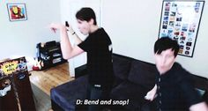 this is one of my favorite things on the internet | Dan and Phil play Just Dance on DanAndPhilGAMES