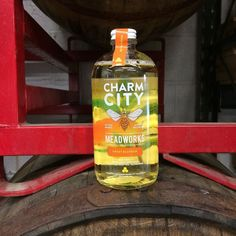 Introducing Sweet Blossom the first of two new products this week! It's our first semi-sweet mead and made with Orange blossom honey. by charmcitymead