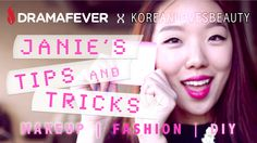 Janie's Tips & Tricks: New series coming soon to DramaFever YouTube!