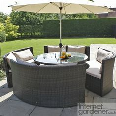 Maze Rattan Dallas Sofa Garden Furniture Set