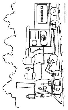 Semi Truck Coloring Pages Free Printable Big Rig Truck