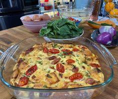 Ιταλική strata | Συνταγή | Argiro.gr Food Art, Quiche, Breakfast, Recipes, Morning Coffee, Quiches, Recipies, Recipe