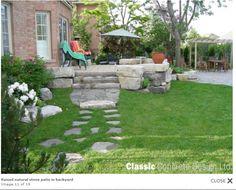 Alternative to wood deck. Backyard, Patio, Pool Houses, Decks, Stepping Stones, Sweet Home, Alternative, Gardens, Wood
