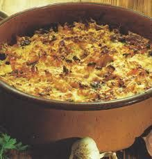 Mount Athos Pastitsio with Mushrooms Greek Recipes, Veggie Recipes, Pasta Recipes, Healthy Recipes, Greek Cooking, Fun Cooking, Cooking Recipes, Cyprus Food, Greek Dinners