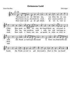 Het Gronings volkslied