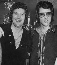 Two good friends hanging out; Tom Jones & Elvis Presley