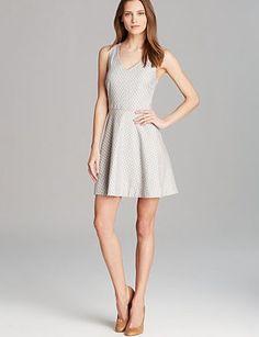 JOIE Norton Floral Jacquard Dress