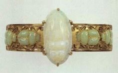 Art Nouveau ring by Lalique, c. 1900