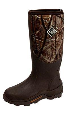 Hunting- Muck Boots Mens Brushlander All-Terrain Hunting 13 Brown Camo WET-AVBB…