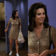 monica geller's style — The One with the Flashback