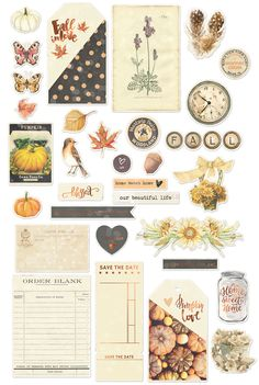 Bits, pieces and more that coordinate with the Amber Moon Collection, use them on your cards, mini albums, layouts and so much more! Bullet Journal Aesthetic, Bullet Journal Art, Bullet Journal Ideas Pages, Journal Stickers, Scrapbook Stickers, Planner Stickers, Printable Stickers, Cute Stickers, Craft Stickers