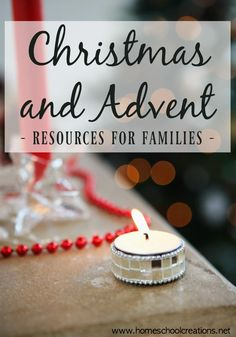 Christmas and Advent resources for families