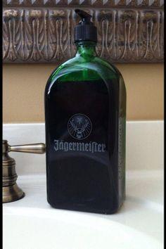 Jagermeister soap/lotion/sanitizer Dispenser