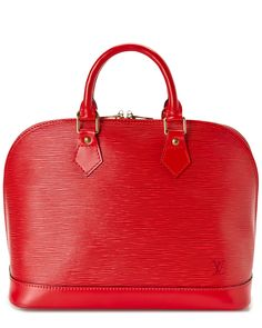 Louis Vuitton Red Epi Leather Alma PM is on Rue. Shop it now.