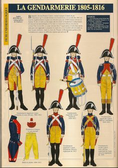 Gendarmeria di élite francese tra il 1805 e 1813