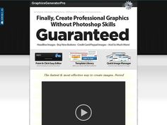 Try Graphicsgeneratorpro.com - Create Graphics Software!!! 75% Commisions Now- http://www.vnulab.be/lab-review/graphicsgeneratorpro-com-create-graphics-software-75-commisions