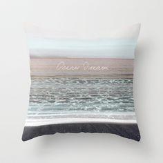 Ocean Dream II Throw Pillow by Pia Schneider [atelier COLOUR-VISION] - $20.00 #photography #coloring #typography #art #signature #vintage #softcolored #piaschneider #mare #ateliercolourvision #ocean #beach #mediteran #sea #crete #nature #impressionism  #summer #home #pillow #throwpillow #decor #decoridea #giftidea