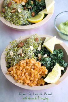 We get it, kale, you LOVE bowls.