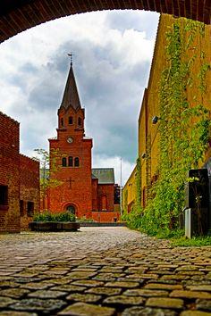 HDR Photo from Holbaek City, Denmark