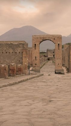 Pompeii Italy.  We visited here often to show our American visitors to our home in Naples. It was only an hour away.