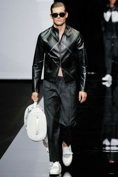 Emporio Armani Spring-Summer 2015 Men's Collection