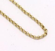 Corrente Portuguesa 50 cm Ouro Amarelo 18k 750 (3)