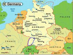 Map Of Germany Mountains.240 Best Germany German Things Images In 2018 Germany German