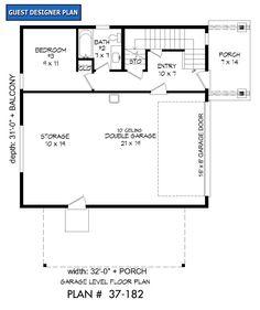 - Garrell Associates, Inc. Garage Apartment Plans, Garage Plans, Shed Plans, Barn Garage, Garage House, Contemporary House Plans, Modern House Plans, Small House Plans, Shed Roof Design