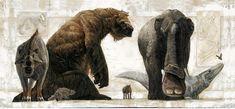 Mamiferos prehistoricos de Kennis y Kennis