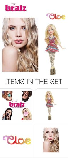 """Bratz: Cloe in real life"" by aquamimi on Polyvore featuring art"