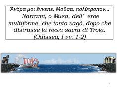 Web quest didattico. Odisseo, il mitico viaggiatore, può ancora oggi, trasmetterci la passione per i viaggi, la curiosità di conoscere terre al di là del mare, di incontrare personaggi straordinari.  Poeti, scrittori, pittori, artisti in genere, si sono ispirati, nel corso dei secoli, al grande poema di Omero.  Seguiamo allora il viaggio di Odisseo partendo da Troia per giungere alla terra dei Ciconi, a quella dei Lotofagi e all'antro di Polifemo, per sfuggire alle Sirene e a Scilla e…