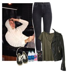 """""""in the studio with Charlie Puth"""" by beadc ❤ liked on Polyvore featuring H&M, Lionette, Balenciaga, Vans, Dolce&Gabbana and Hostess"""