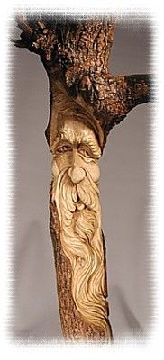One Keeper of the woods was carved into a excellent walking cane. Everyone became envious of the new look. Mumblings and grumblings were heard in whispers- Why was he chosen and not ME?