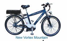 New 2015 Vortex Mid-Drive 38 v 20 ah E Bike 2 Batteries