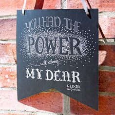 Wizard of Oz | You Had the Power All Along My Dear! | Glinda the Good Witch