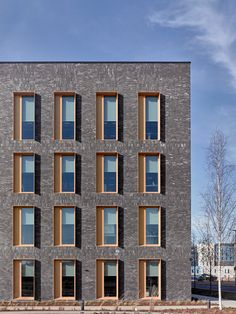 hotel facade Gallery of Discovery Drive Healthcare Village / NBBJ - 9 Architecture Concept Diagram, Brick Architecture, Chinese Architecture, Futuristic Architecture, Residential Architecture, Rendering Architecture, Architecture Diagrams, Architecture Office, Architecture Portfolio