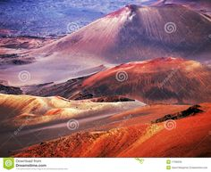 Haleakala Volcano Maui Hawaii Stock Photo - Image of crater, hawaii: 16948782 Maui Tours, Travel Log, Maui Hawaii, Round Trip, Big Island, Vacation Trips, Countryside, National Parks, Stock Photos