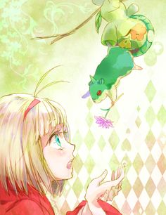 Although I loathe Shiemi x Amaimon and my OTP is Rin x Shiemi...I still find this utterly adorable for some reason >~<