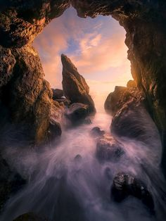 Photograph Glow Cave by Marc  Adamus on 500px