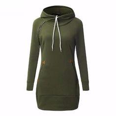 Hooded Sweater Dress