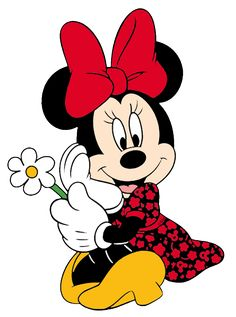 Disney's Minnie Mouse:) Arte Do Mickey Mouse, Minnie Mouse Cartoons, Mickey Mouse And Friends, Mickey Minnie Mouse, Disney Cartoons, Minnie Mouse Pictures, Mickey Mouse Images, Disney Pictures, Walt Disney