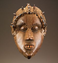 Africa | Bassa peoples, Liberia | Late 19th to early 20th century | Wood, bone, iron