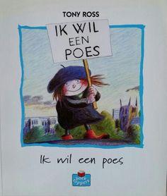 Prentenboek Ik wil een poes!