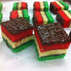 My creation: Rainbow Cookies